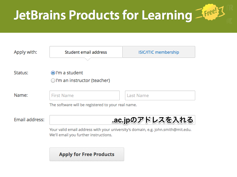 jetbrains-student-apply